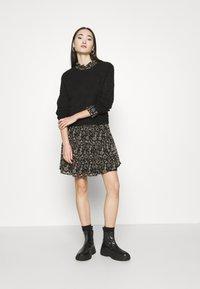 ONLY - ONLAMBRE SHORT DRESS  - Day dress - black - 1