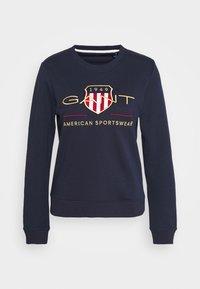 GANT - ARCHIVE SHIELD  - Sweatshirt - blue - 4