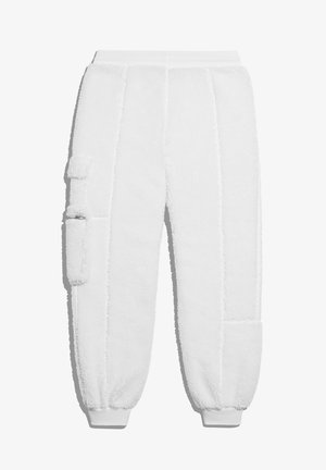 IVY PARK TEDDY CARGO SWEAT PANTS (ALL GENDER) - Tracksuit bottoms - core white