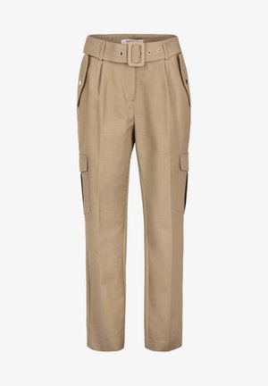 Cargo trousers - dark brown
