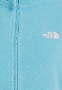 The North Face - GLACIER FULL ZIP - Fleece jacket - maui blue - 4