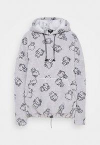 NEW girl ORDER - HOODY - Jersey con capucha - grey - 0