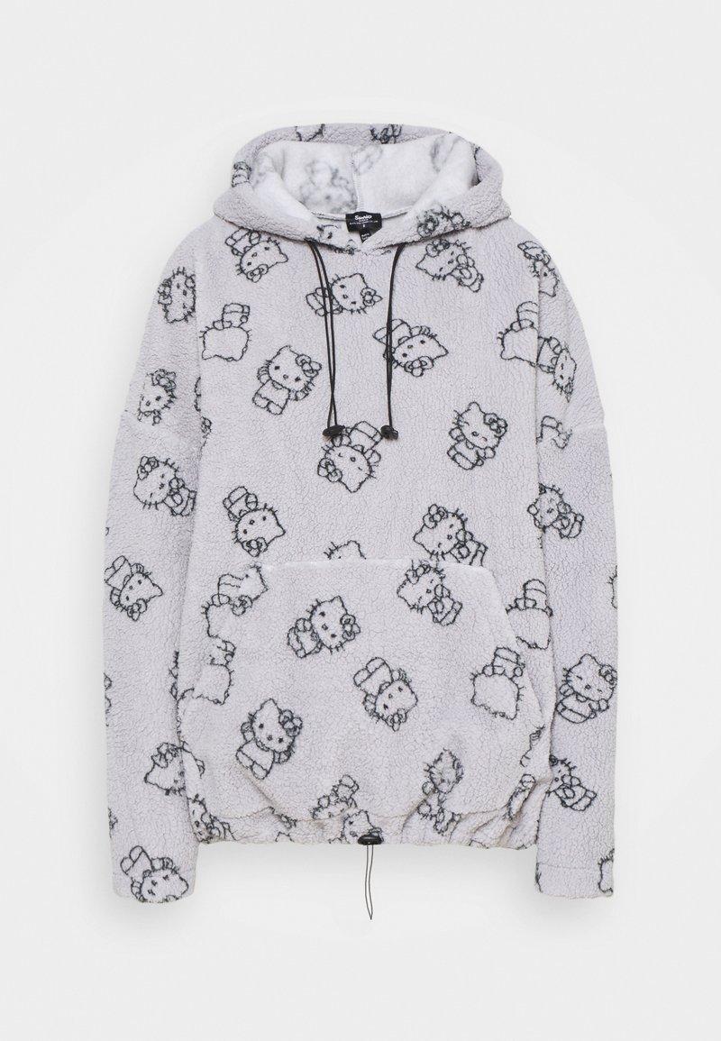 NEW girl ORDER - HOODY - Jersey con capucha - grey