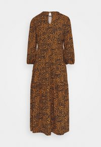 New Look Tall - MIA ZEBRA MIDI SMOCK - Jersey dress - brown - 1