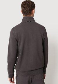 Napapijri - Zip-up sweatshirt - dark grey solid - 2