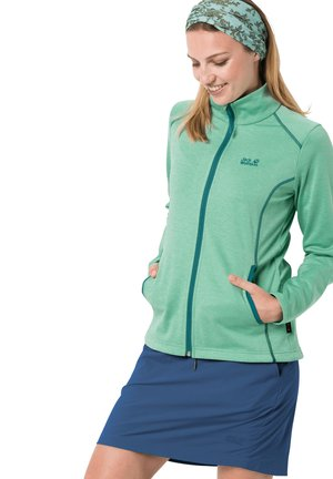 HORIZON - Fleece jacket - pacific green