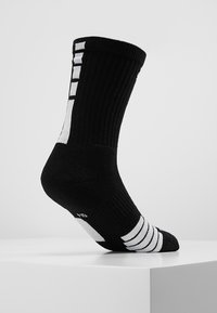 Nike Performance - ELITE CREW - Calze sportive - black/white/white - 3