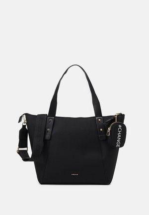 SHOPPER BAG NEIL SET - Tote bag - black