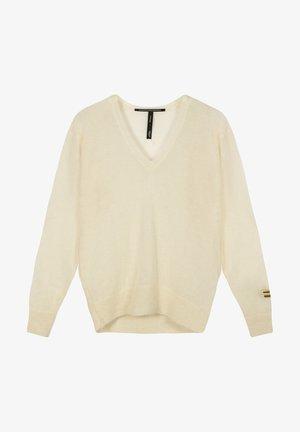 Sweter - soft white melee