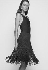 Hervé Léger - Cocktail dress / Party dress - dark navy - 3