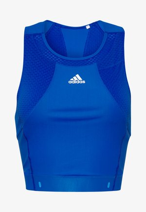 HEAT.RDY TANK - Sportshirt - glow blue