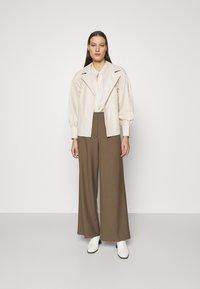 DAY Birger et Mikkelsen - DAY GROW - Leather jacket - ivory - 1