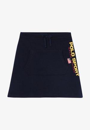BOTTOMS SKIRT - A-line skirt - cruise navy