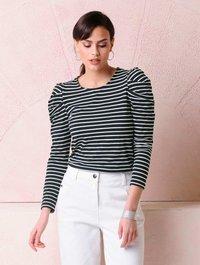 Alba Moda - Long sleeved top - black, white - 4