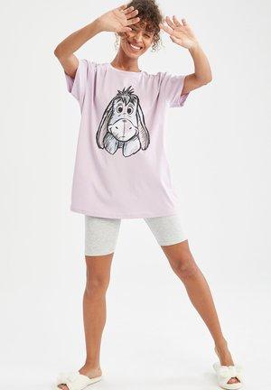SET - Pijama - grey, pink