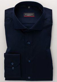 Eterna - MODERN FIT - Shirt - marineblau - 4