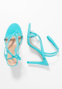 Call it Spring - ZELDAA - Sandály na vysokém podpatku - bright blue - 3