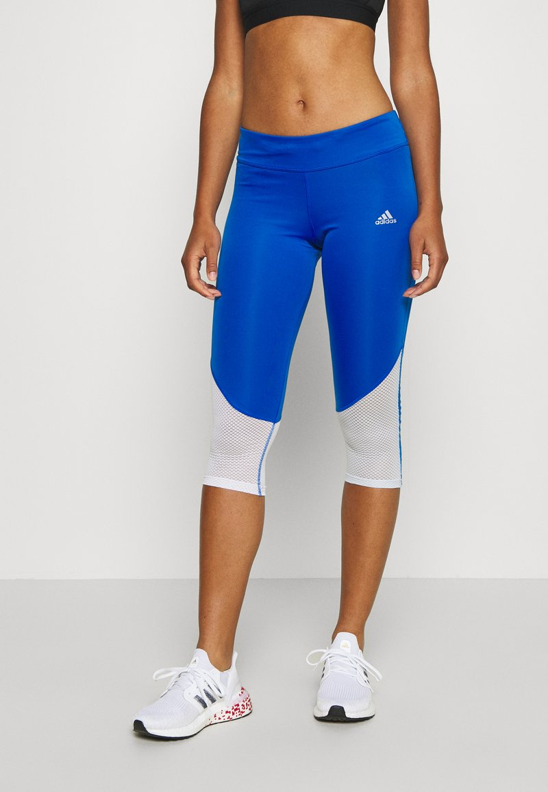 adidas Performance - OWN THE RUN - Tights - glow blue