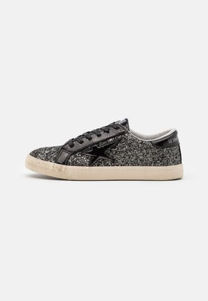 CITY - Trainers - glitter black