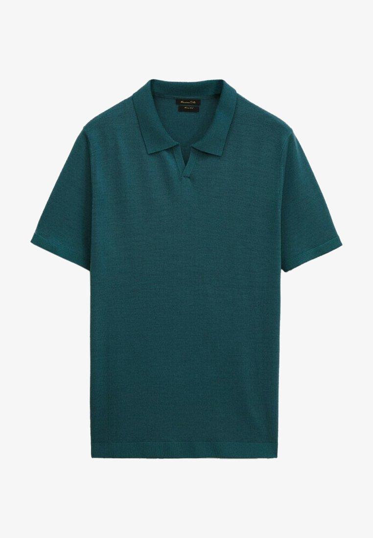 Massimo Dutti - Polo shirt - teal