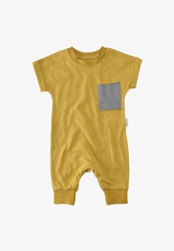 Jumpsuit - mustard yellow