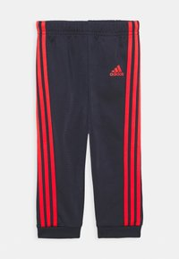 adidas Performance - FAVOURITES TRAINING SPORTS TRACKSUIT BABY SET - Chándal - dark blue/red