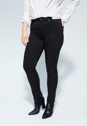 VALENTIN - Slim fit jeans - black denim