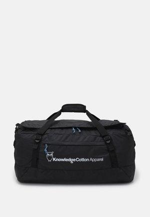 PACKABLE DUFFEL BACKPACK UNISEX - Weekend bag - black jet