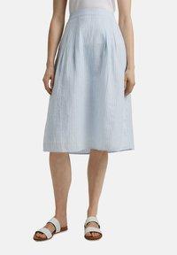 Esprit - A-line skirt - light blue - 7