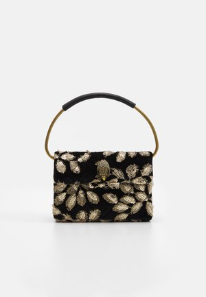 MINI RING KENSINGTON BAG - Handbag - black/beige