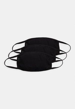 COMMUNITY MASK 3 PACK - Látková maska - black