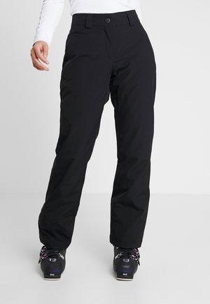 TAIPO LADY PANT SKI - Snow pants - black