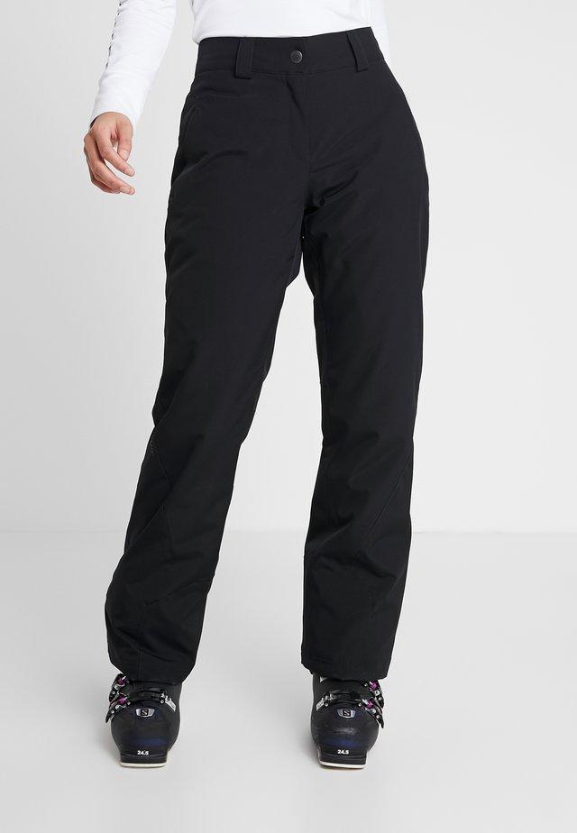 TAIPO LADY PANT SKI - Spodnie narciarskie - black