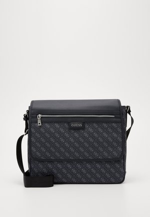 DAN LOGO MESSENGER - Across body bag - black