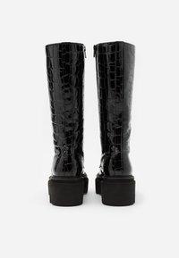 Kennel + Schmenger - VIDA - Platform boots - schwarz - 3