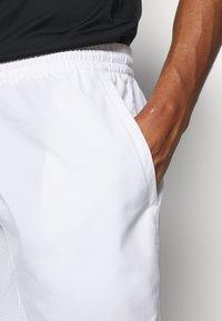 adidas Performance - CLUB 3-STRIPES TENNIS AEROREADY PRIMEGREEN SHORTS - Pantalón corto de deporte - white/black - 3