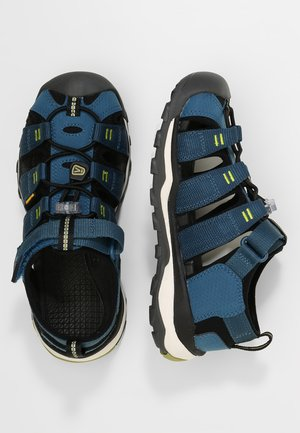 NEWPORT NEO H2 - Walking sandals - legion blue/moss