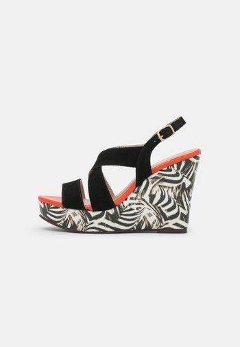 MOICIA OBA - Platform sandals - multicolor