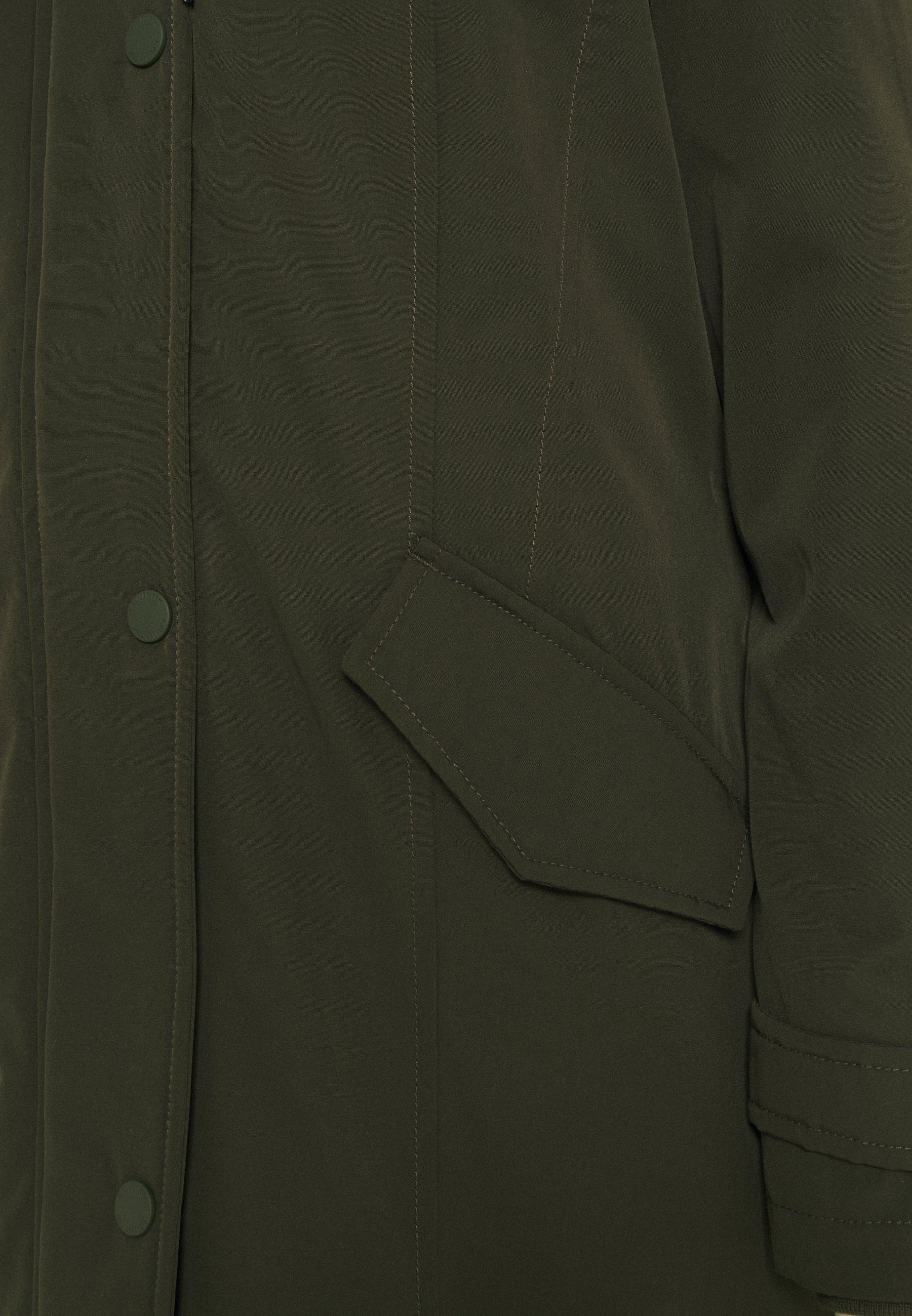 Lowest Price Get Women's Clothing s.Oliver LANGARM Parka khaki/oliv pq1tTZQkN dHH9oId0Z