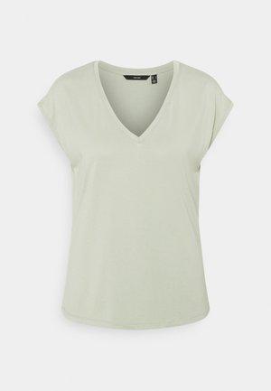 VMFILLI V NECK TEE - Basic T-shirt - desert sage