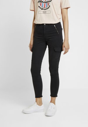 ONLPURPOSE REG ANKLE PANTS - Trousers - black