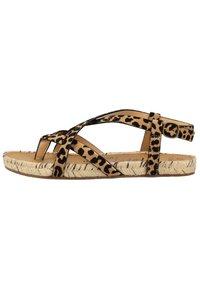 Blowfish Malibu - VEGAN GRANOLA - T-bar sandals - sahara leopard 336 - 0