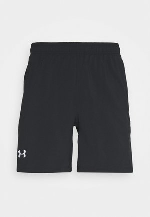 LAUNCH 2-IN-1 SHORT - Korte sportsbukser - black