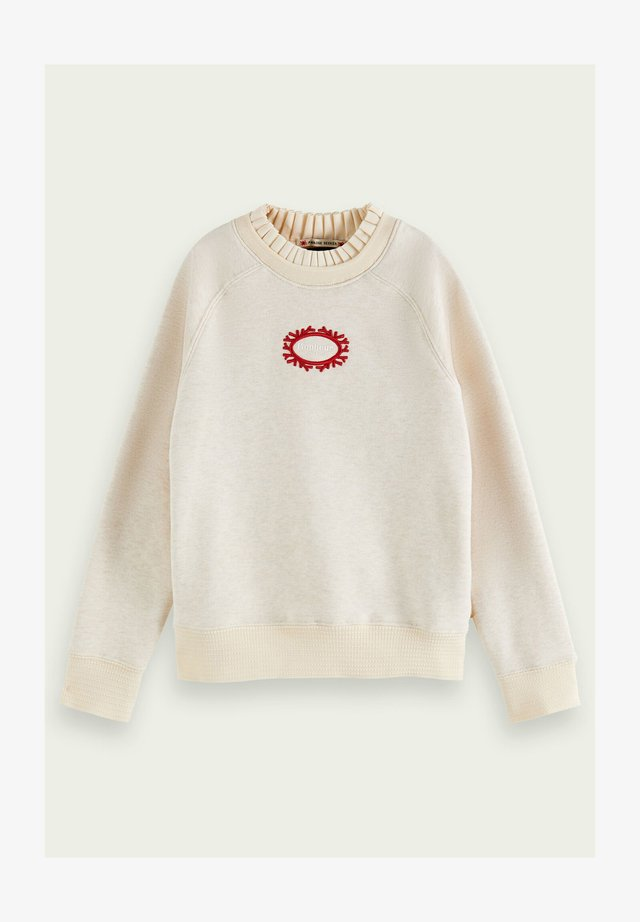 Sweatshirts - off white melange