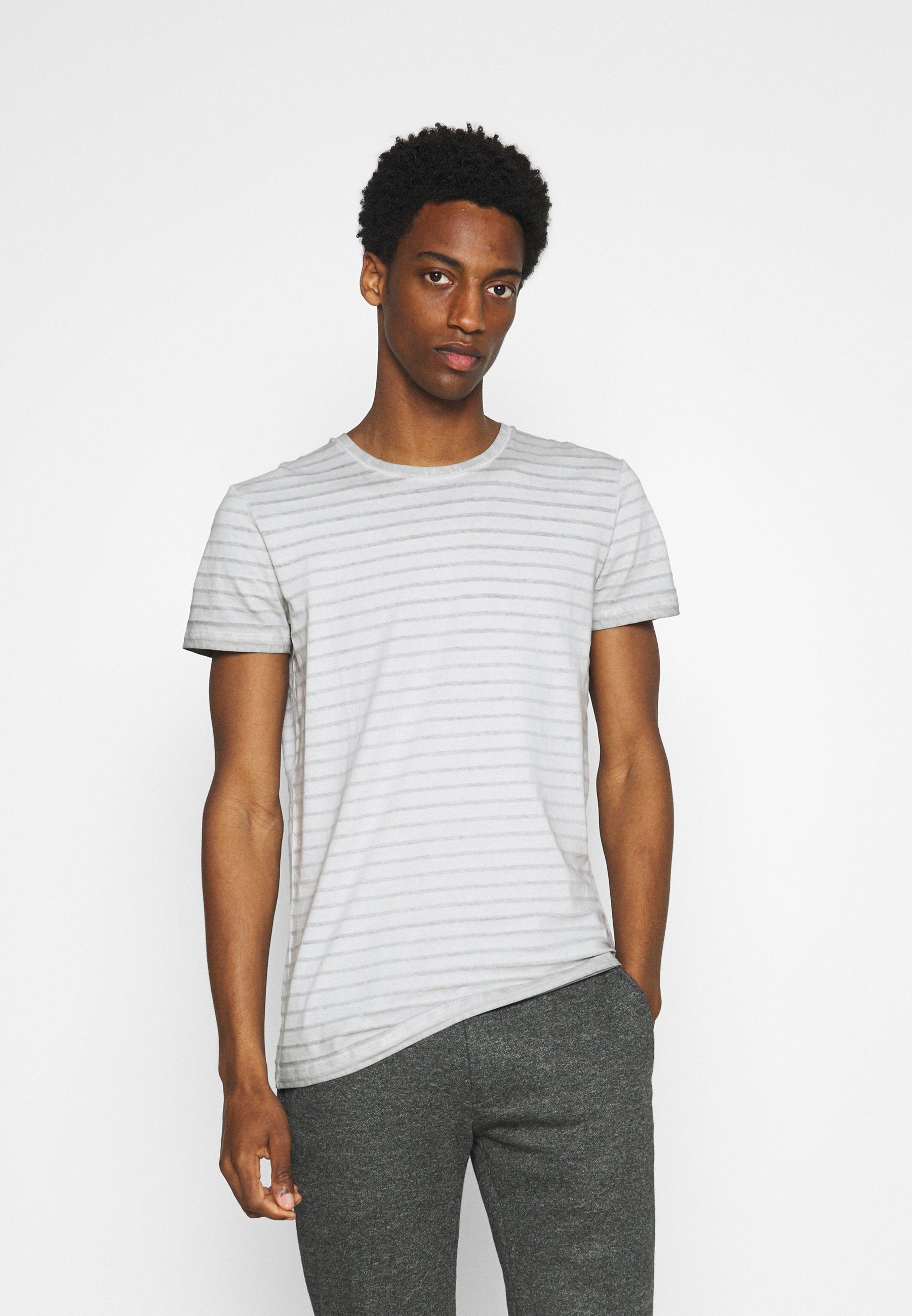 Men SHORT SLEEVE ROUND NECK AMERICAN SHOULDER - Print T-shirt