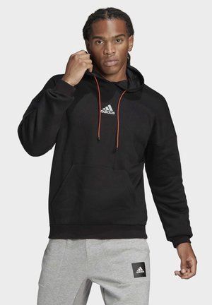 SPACE RELAXED SWEATSHIRT HOODIE - Sweat à capuche - black