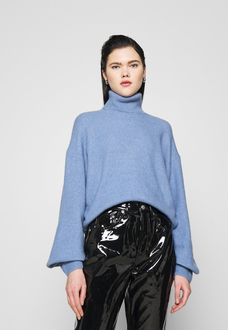 Weekday - AGGIE TURTLENECK - Pullover - dove blue