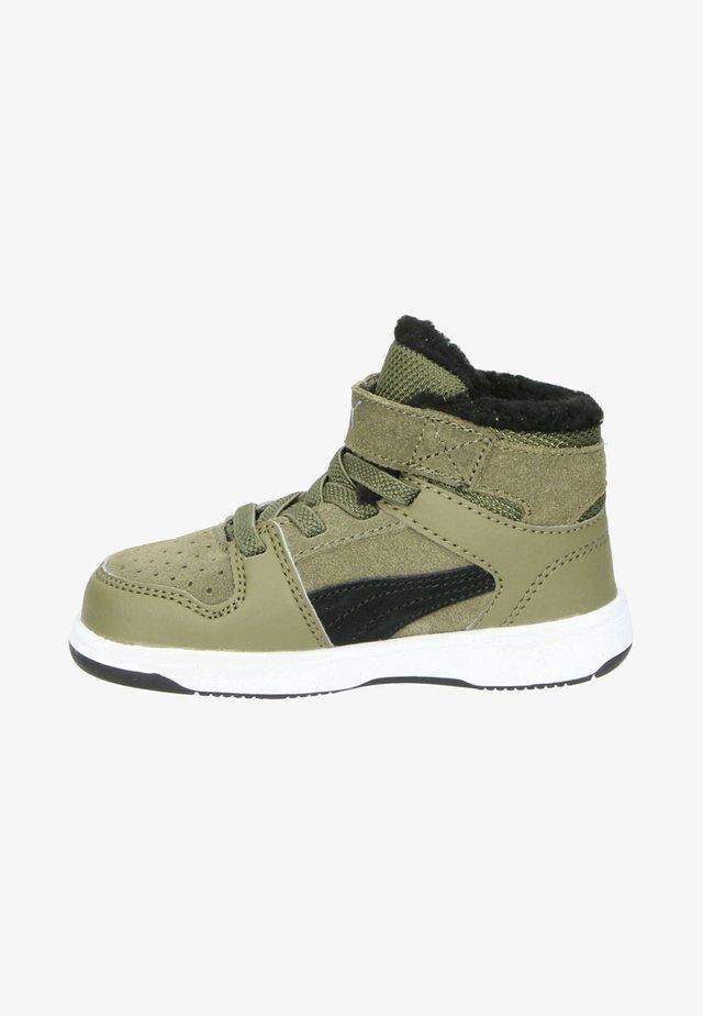 Sneakersy wysokie - groen