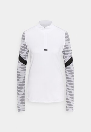 DRY STRIK - Sports shirt - white/black