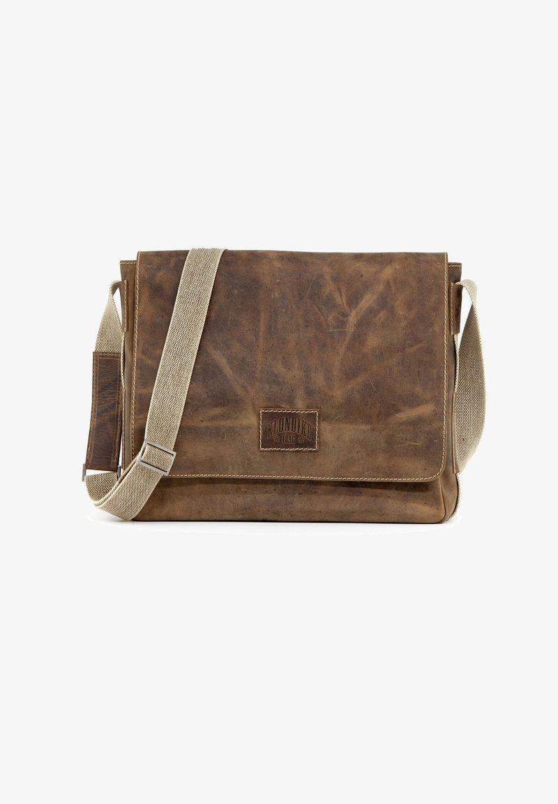 Klondike 1896 - ETHAN - Across body bag - dunkelbraun